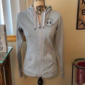 Under Armour coldgear zip up hoodie sweatshirt
